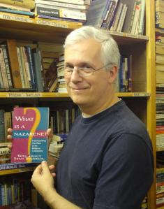Greg discovers Tracy & Ingersol's What is a Nazarene? at a Johannesburg secondhand bookshop