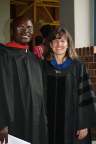 Rev. Francis Mwansa of Zambia was the valedictorian of the B.Th. class. Dr Denise Anderson, director of the online B.Th., extends her congratulations.