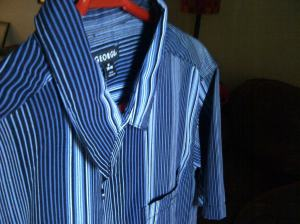 One of two shirts I often wear, made in Bangladesh