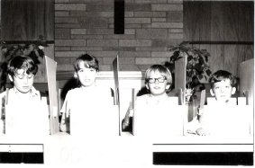 Rochester (NY) Zone Junior Quizzing team, circa 1971