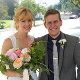 Newlyweds Kevin and Naomi Nye