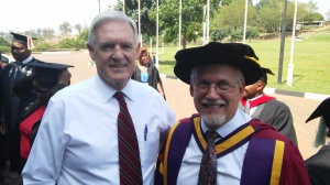 SANU Chancellor Dr Loren Gresham was with us for the 5th graduation ceremony.
