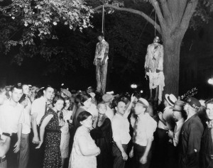 Lynching on 9 August 1930, in Marion, Indiana