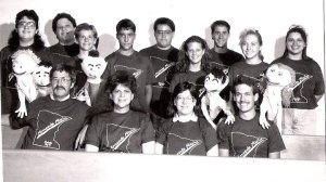 "The ""Minnestota Mission,"" Sedalia Church of the Nazarene, summer 1992. Karen is the third girl from the right."
