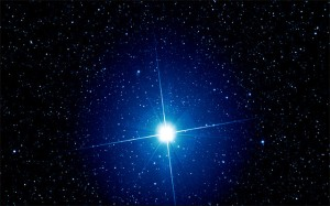 Sirius, the brightest star in Earth's sky