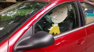Charlie Brown, a well-loved cartoon character created by Charles Schulz