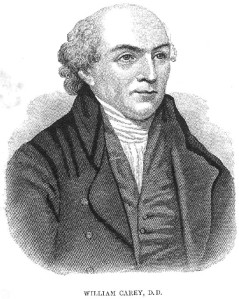 William Carey, the 18th century father of modern missions