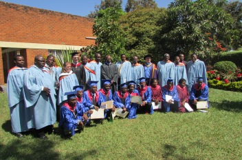 Graduates and faculty of Nazarene Theological College of Central Africa