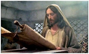 To inaugurate his ministry, Jesus of Nazareth read from the Isaiah scroll. See Luke 4:16-21.