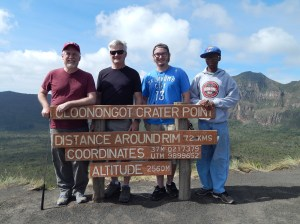 My companions on our November 12, 2016 excursion (left to right): Daryl Johnson, Matt Madtes, and Jordan North